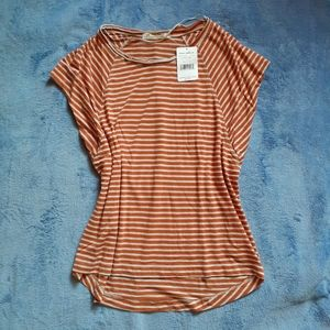 NWT Striped Free People shirt